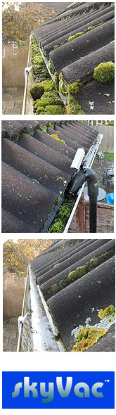 Gutter cleaning Sevington J R Cleaning