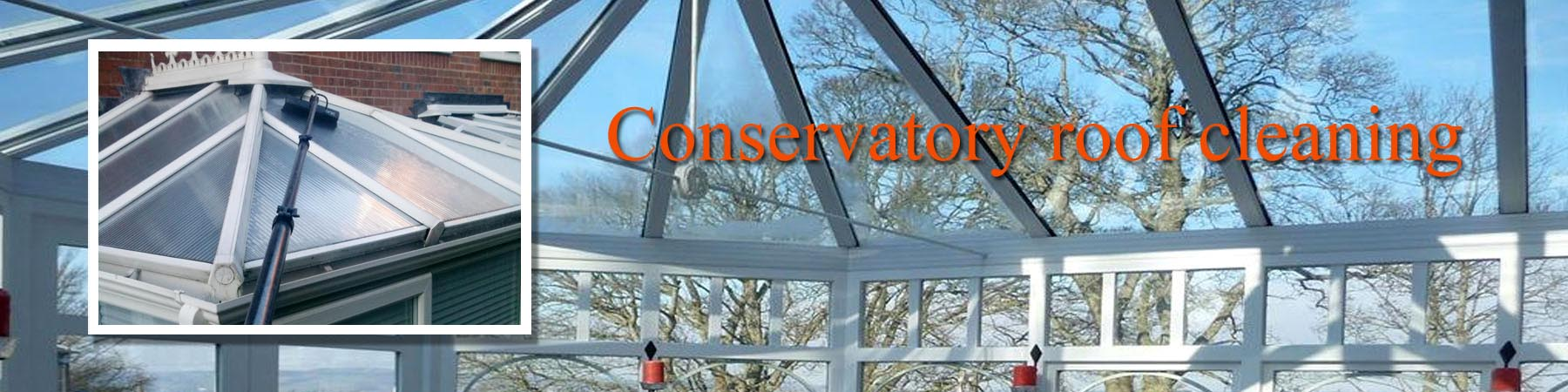 Conservatory roof cleaning Rochester