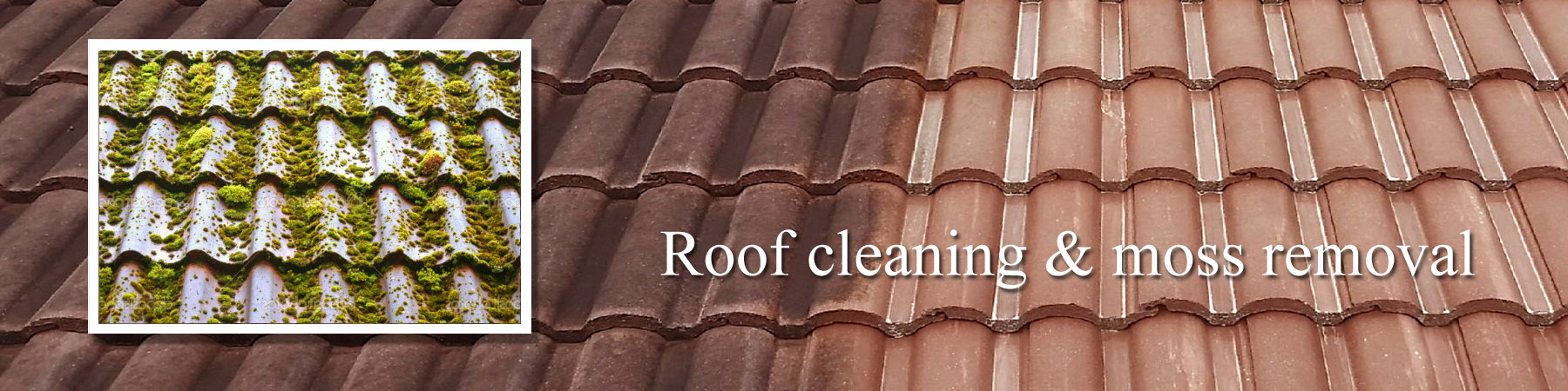 Roof cleaning London Colney J R Cleaning