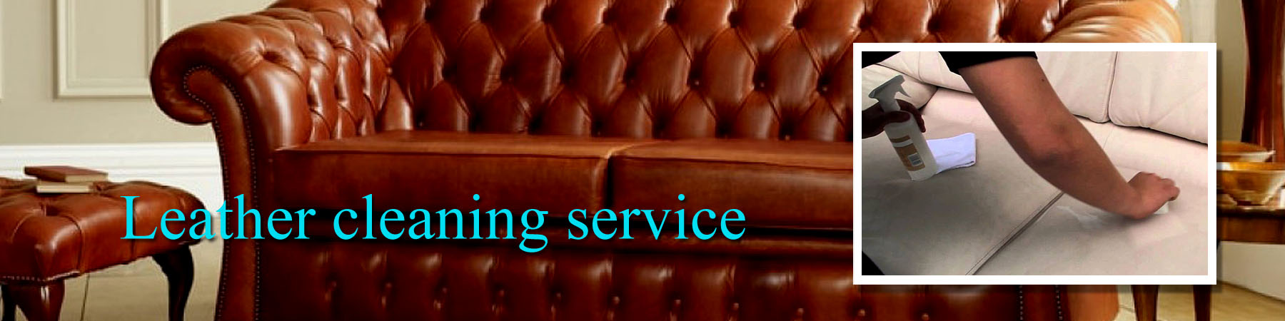 Leather cleaning services J R Cleaning